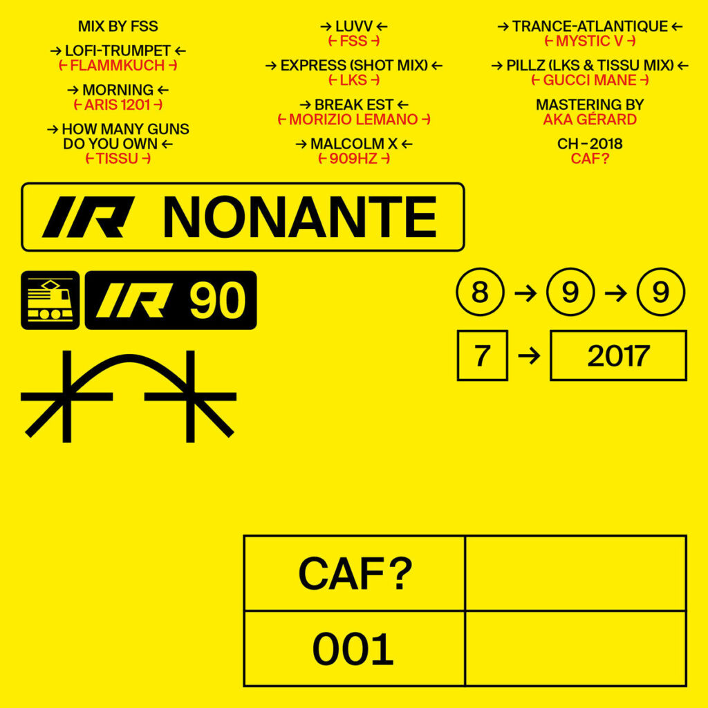 CAF?001 Various Artists - IR Nonante