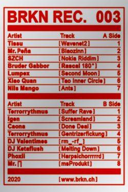 003 Various Artists - BRKN REC. 003